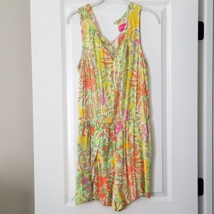Lilly Pulitzer for Target Romper sz M